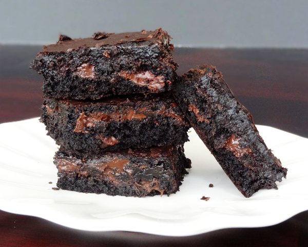 Moist and Chewy Brownies