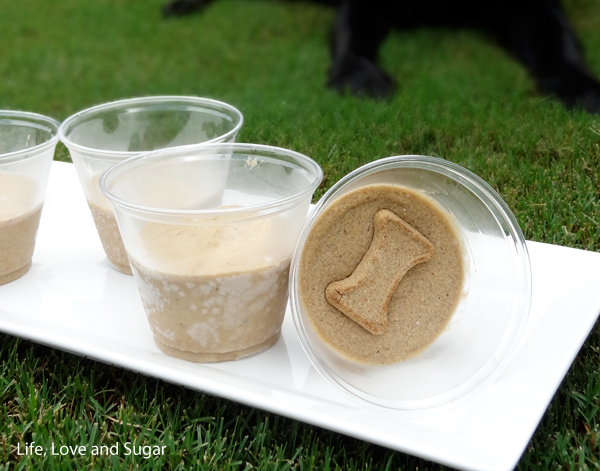If your dog does not like peanut butter, you could just use the yogurt and the honey:) I agree with you about the frosty paws not cheap, but I also know that the store I shop at they have just the plain with no peanut butter added. I would think what ever your dog really likes go for it, it will freeze.