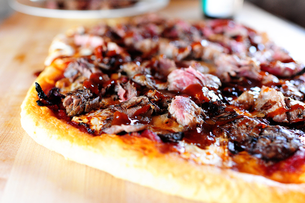 Steakhouse Pizza from Pioneer Woman